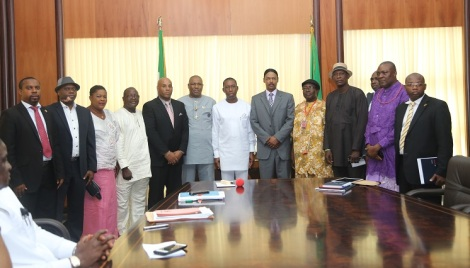 OKOWA HOSTS WRIGHT GLOBAL GROUP, APPROVES ESTABLISHMENT OF MODULAR REFINERIES IN DELTA