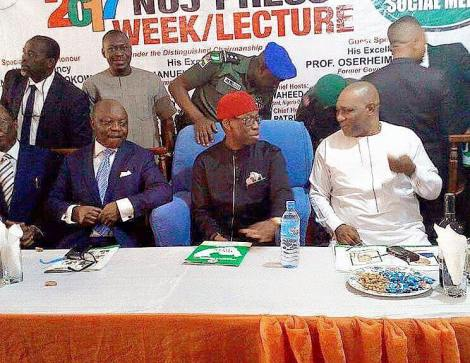 UDUAGHAN CLEARS AIR ON ALLEGED N700MILLION DEBT, URGES DTSG TO ADDRESS BLACKMAIL OF WHISTLE-BLOWERS…AS DELTA NUJ HOLD PRESS WEEKLECTURE